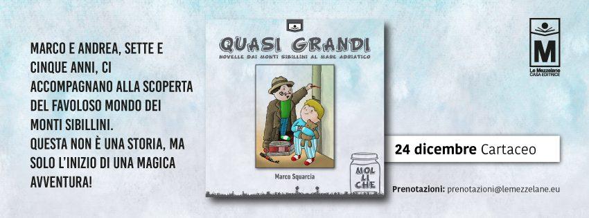 Marco e Andrea, sette e cinque anni, ci accompagnano alla scoperta del favoloso mondo dei Monti Sibillini. Questa non è una storia, ma solo l'inizio di una magica avventura!