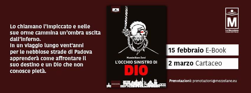 Lo chiamano l'Impiccato e nelle sue orme cammina un'ombra uscita dall'inferno. In un viaggio lungo vent'anni per le nebbiose strade di Padova apprenderà come affrontare il suo destino e un Dio che non conosce pietà.
