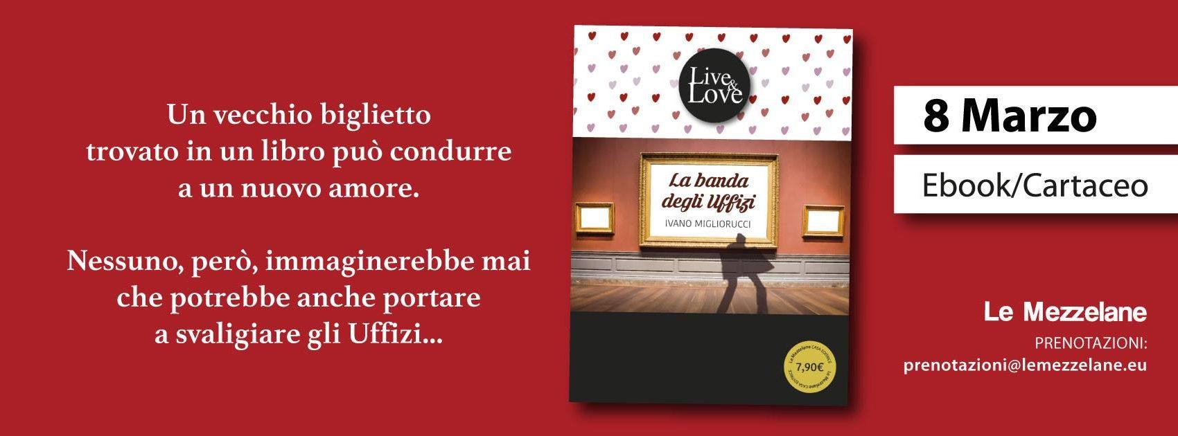 Un vecchio biglietto trovato in un libro può condurre a un nuovo amore. Nessuno, però, immaginerebbe mai che potrebbe anche portare a svaligiare gli Uffizi...