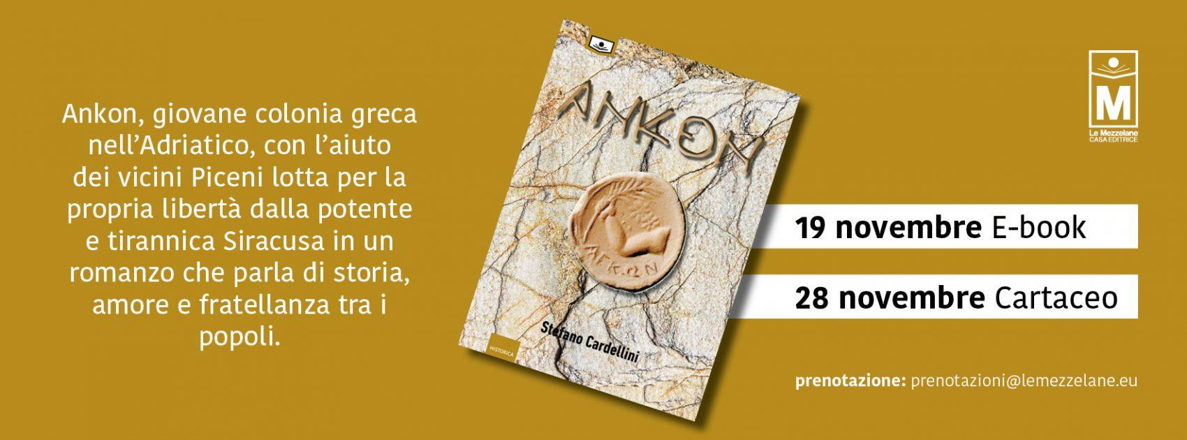 Ankon, giovane colonia greca nell'Adriatico, con l'aiuto dei vicini Piceni lotta per la propria libertà dalla potente e tirannica Siracusa in un romanzo che parla di storia, amore e fratellanza tra i popoli.