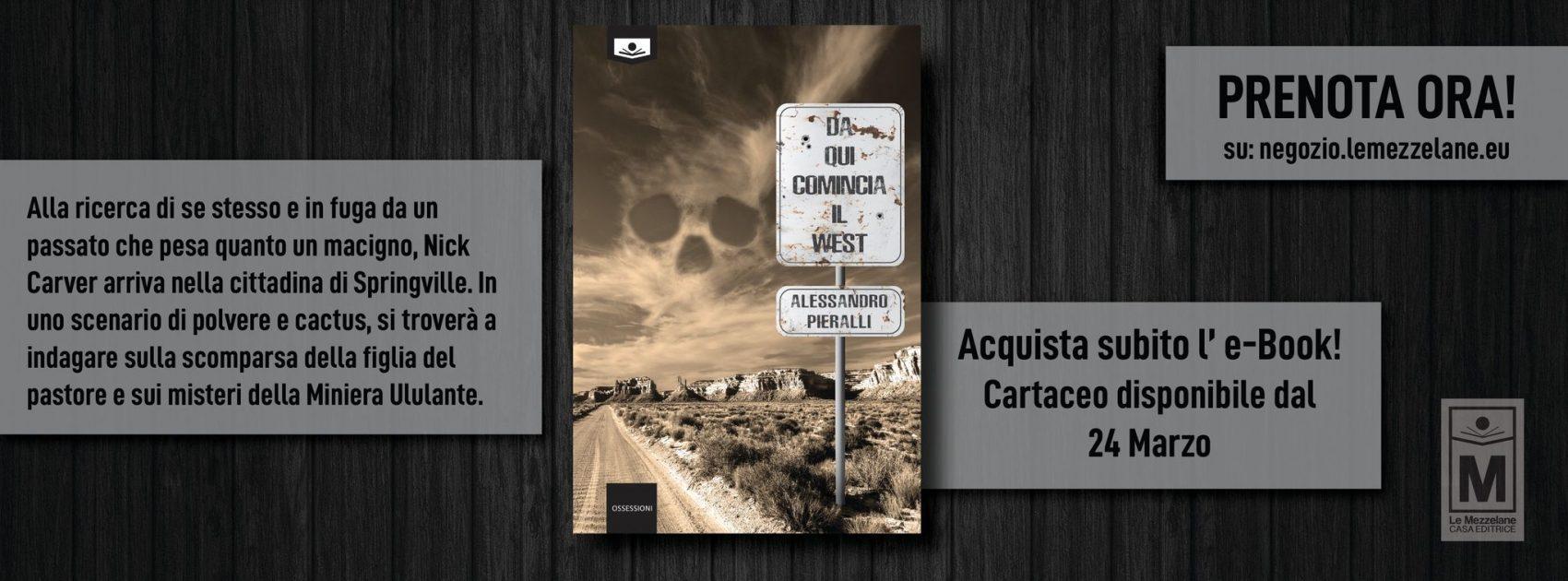 Alla ricerca di se stesso e in fuga da un passato che pesa quanto un macigno, Nick Carver arriva nella cittadina di Springville. In uno scenario di polvere e cactus, si troverà a indagare sulla scomparsa della figlia del pastore e sui misteri della Miniera Ululante.